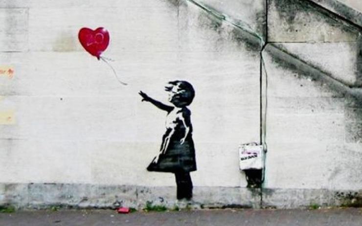 Banksy, la poésie murale